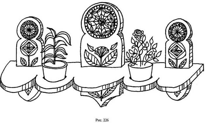 Как сделать полки под цветы своими руками